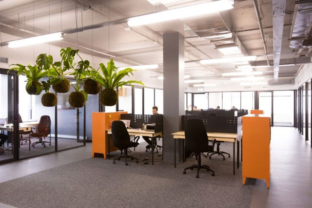 Coworking space startup the bureaux cape town south africa